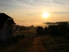 Blick aufs Rheintal von Rheinbai aus