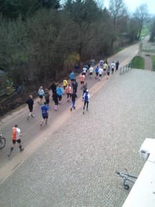 1. Lauftreff der Lauf-KulTour 2013