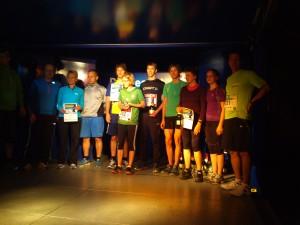 Siegerehrung beim 1. Chemnitzer Staffellauf