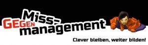 Werbebanner gegen Missmanagement