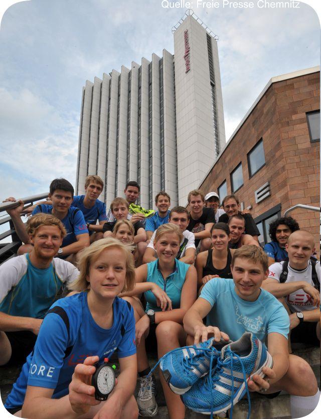 Mercure Hotel in Chemnitz läd zum Treppenlauf