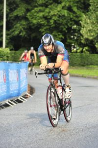 Manu auf dem Rad (Bild www.marathon-photos.com)